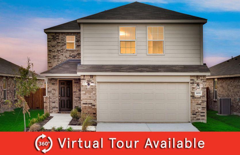 Pierce Plan in Oakbrook, Van Alstyne, TX 75495