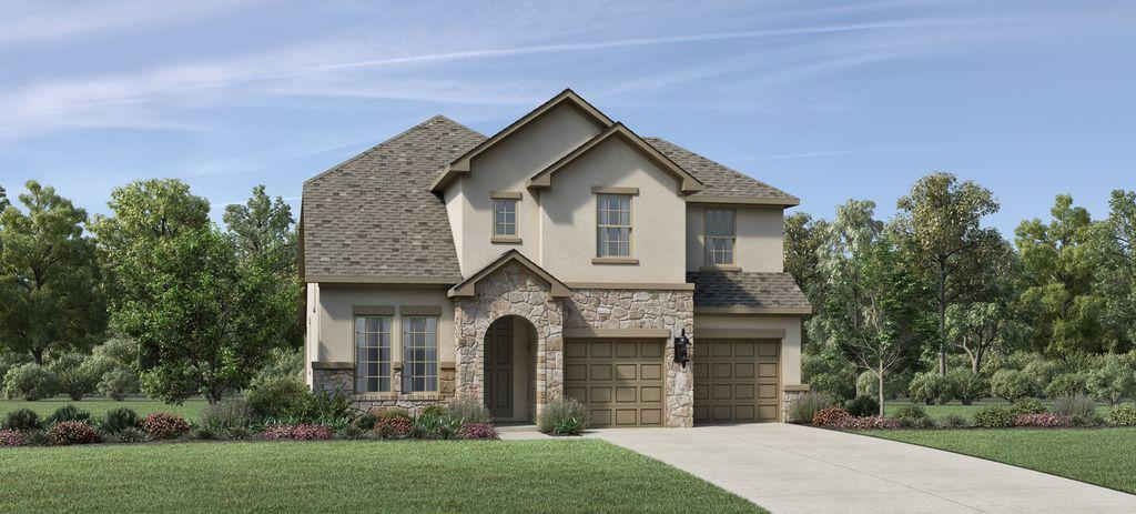 Delonte Plan in Parkvue, Denton, TX 76205