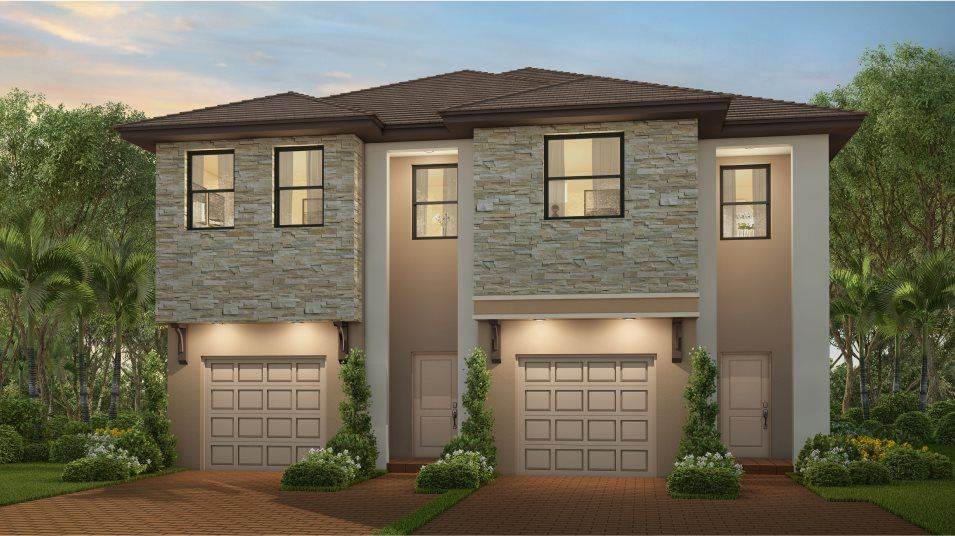 Perennial Plan in Campo Bello : Twin Homes, Homestead, FL 33032