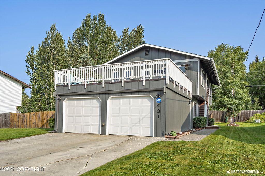 431 Bonnie Jean Ct Anchorage Ak 99515, Anchorage Garage Door
