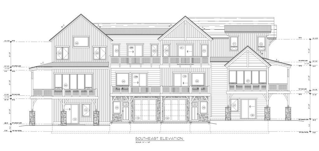 End Unit Plan in The Meadows Townhomes, Fraser, CO 80442