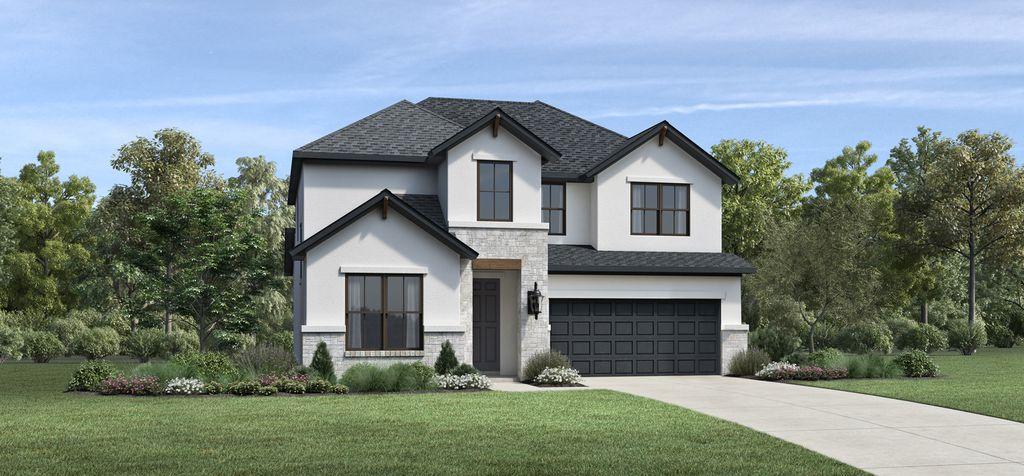 Ridgehaven Plan in Parkvue, Denton, TX 76205