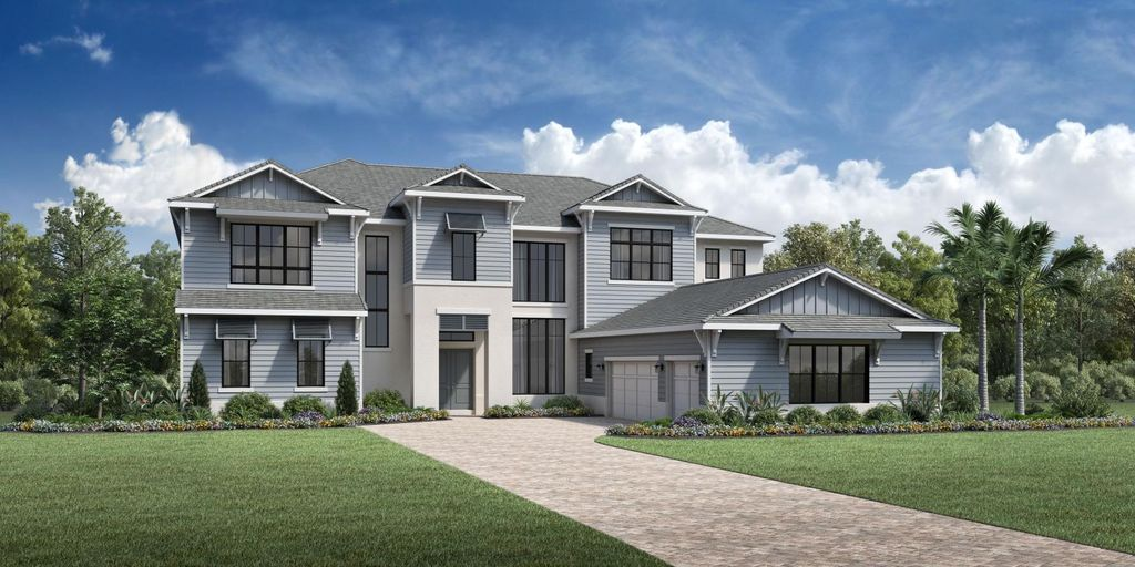 Montech Plan in Shores at Lake Whippoorwill - Signature Collection, Orlando, FL 32832
