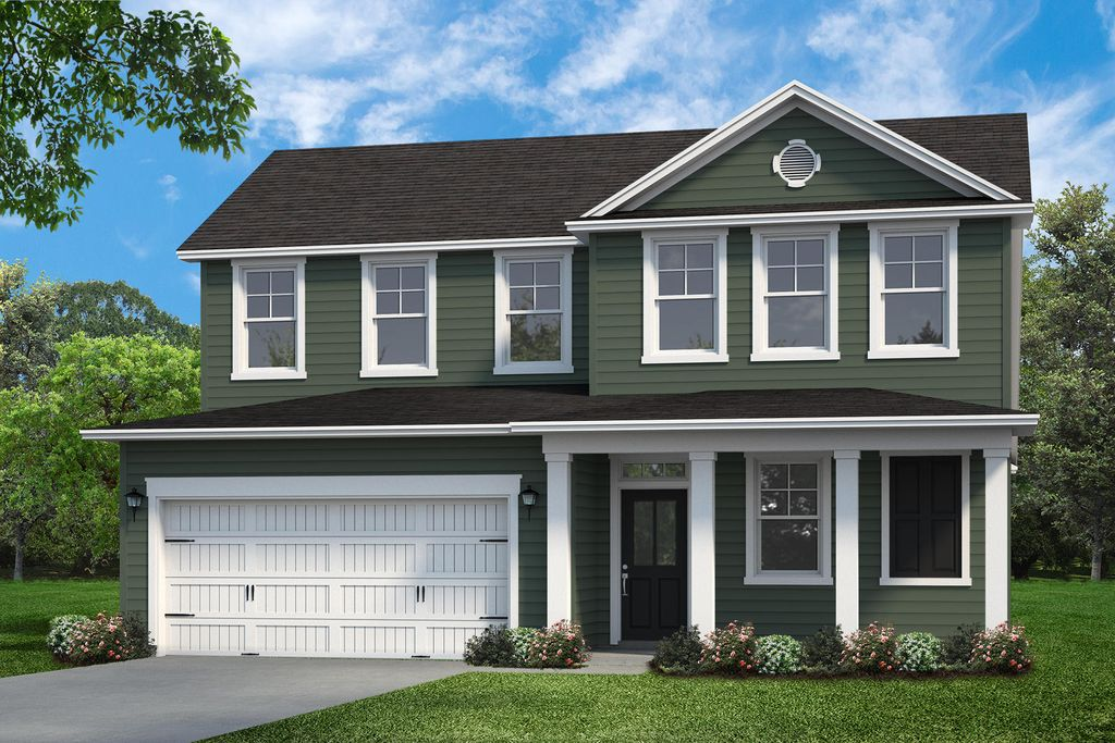 Barnwell Plan in Gregory Pointe at Deercreek, Manning, SC 29102