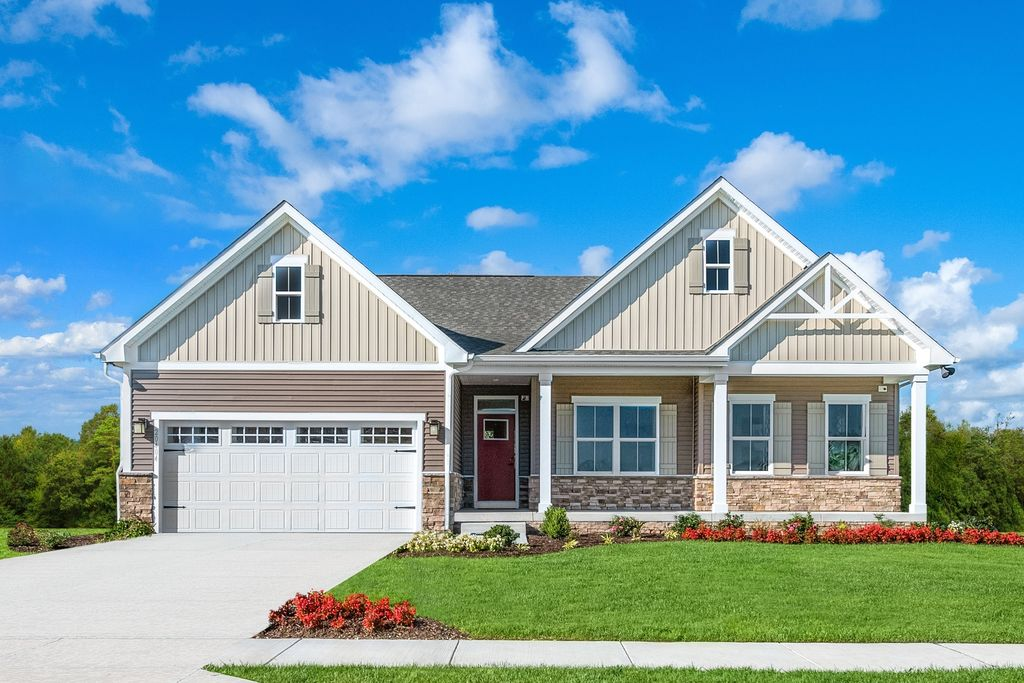 Cumberland (Included Finished Basement) Plan in Windsor Estates, Middletown, OH 45044