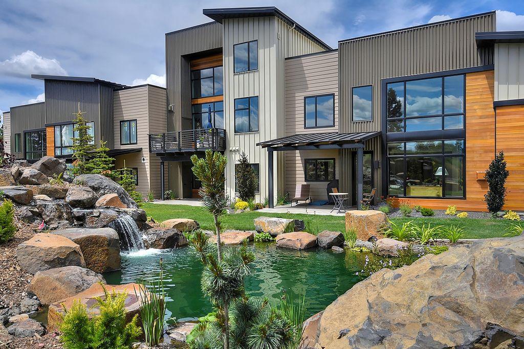 Emerson 3-Story Oasis Plan in Bella Terra Garden Homes, Spokane, WA 99223
