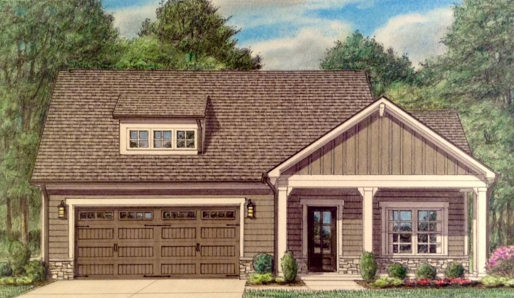 Palazzo Plan in The Grove at Chatuga Coves, Loudon, TN 37774