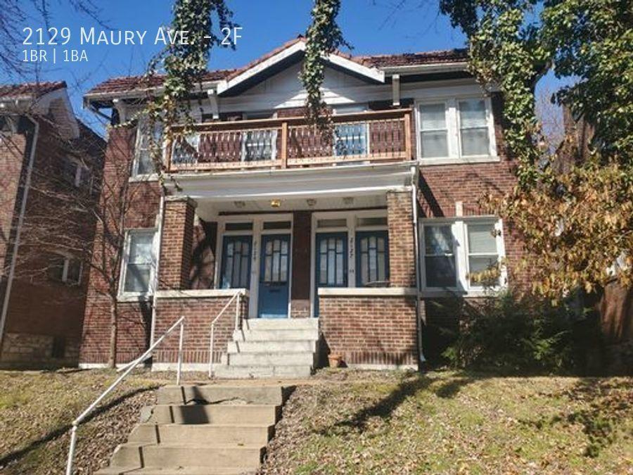 2129 Maury Ave #2F, Saint Louis, MO 63110