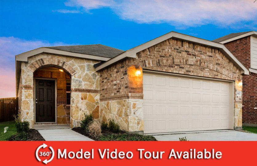 Taft Plan in Oakbrook, Van Alstyne, TX 75495