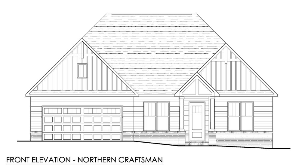 Piedmont II Plan in Tellico Village A Community Cook Bros. Homes is Building In, Loudon, TN 37774