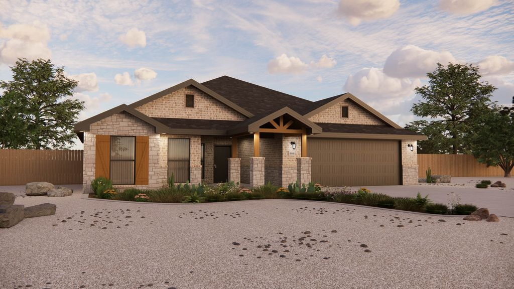 Jenny Plan in The Meadows, Amarillo, TX 79119