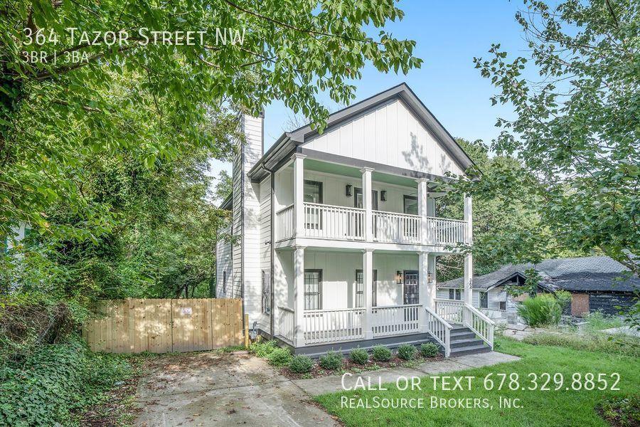 364 Tazor St NW, Atlanta, GA 30314