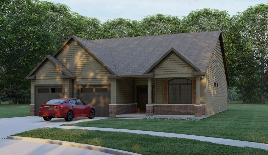 The Pine Plan in Sage Woods, Monticello, IL 61856