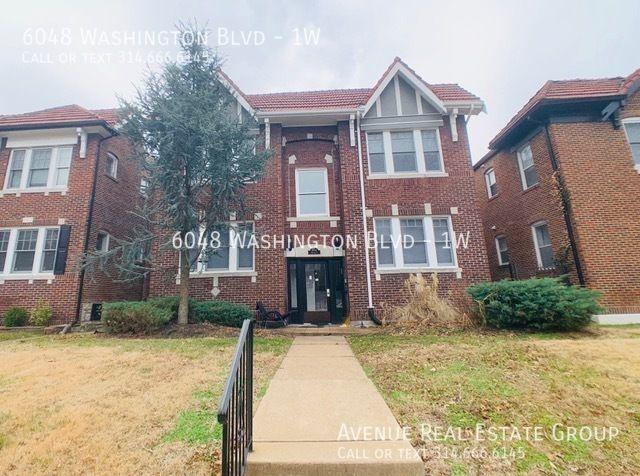 6048 Washington Blvd #1W, Saint Louis, MO 63112