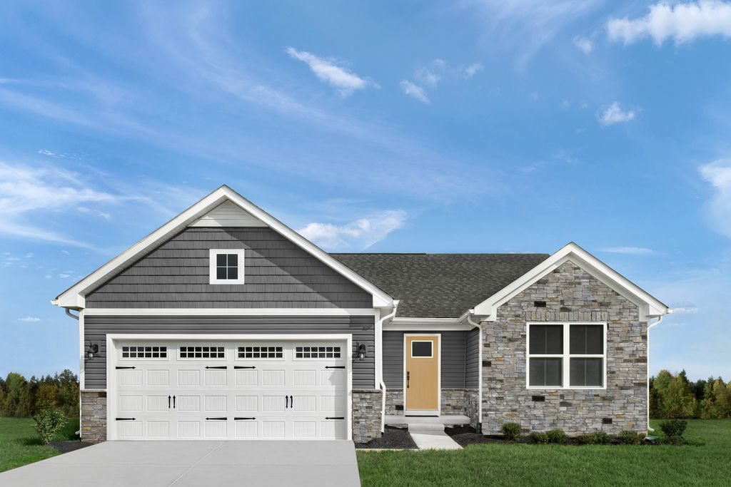Grand Bahama w/ Full Basement Plan in Sawyers Mill Ranches, Middletown, OH 45042