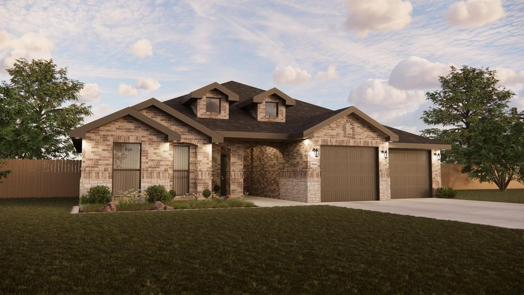 New Lady 2500 Classic Contemporary Plan in The Meadows, Amarillo, TX 79119