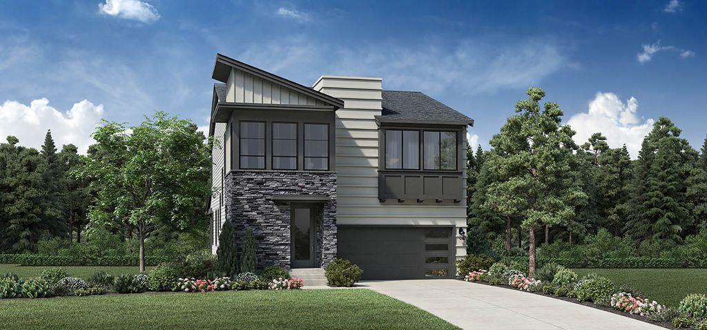 Sprague with Basement Plan in Cedar Mill Landing, Portland, OR 97229