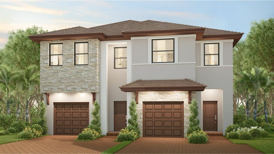 Lucerne Plan in Campo Bello : Twin Homes, Homestead, FL 33032