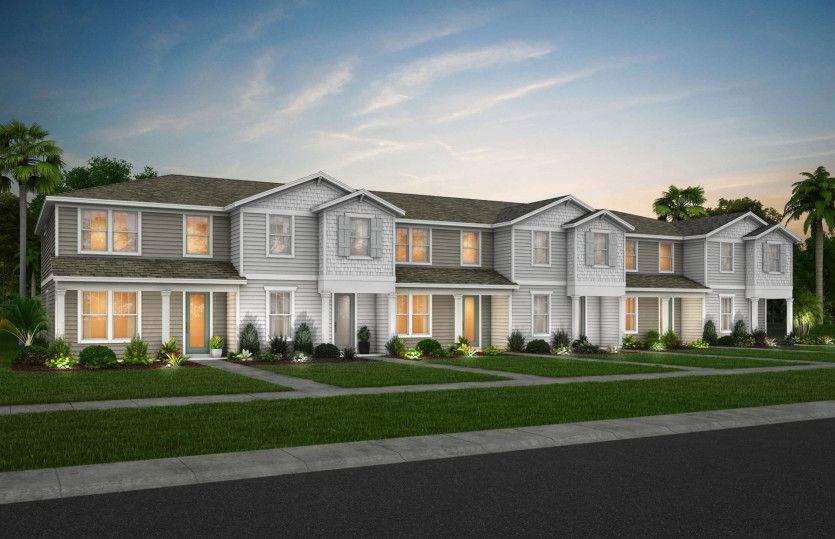 Foxtail - Interior Unit Plan in Pinewood Reserve, Orlando, FL 32829