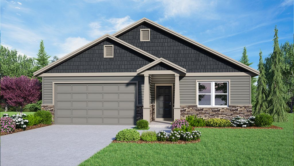 PROSSER Plan in Legacy Ridge West, Liberty Lake, WA 99019