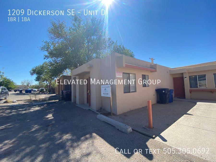 1209 Dickerson Dr SE #D, Albuquerque, NM 87106