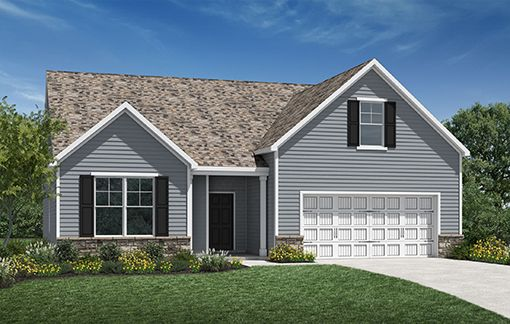 Oakland Lifestyles Plan in Broadmoore Commons - Lifestyle Detached Patio Homes, Pataskala, OH 43062