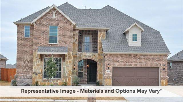 Harmony Plan in Reserve at Creekside, Denton, TX 76210