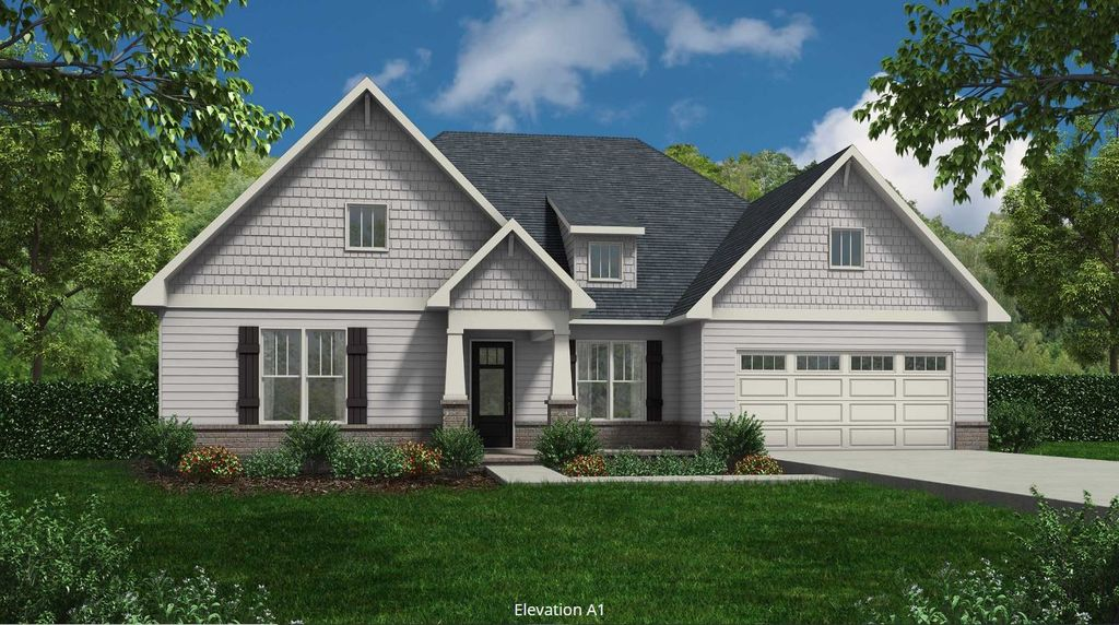 Cumberland Plan in Tellico Village A Community Cook Bros. Homes is Building In, Loudon, TN 37774
