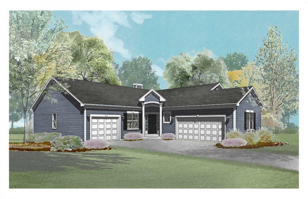 Lincoln Plan in Bailey Estates, Williams Bay, WI 53191