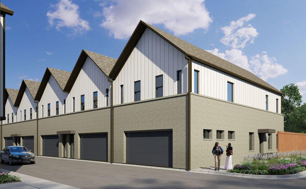 Ventura Plan in Stevens Park Townhomes, Dallas, TX 75211