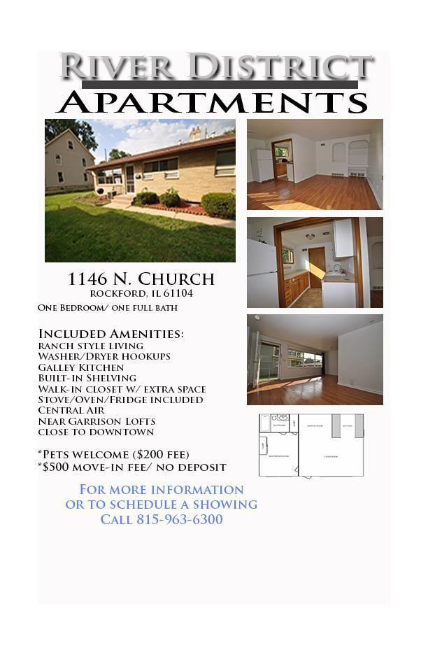 1146 N Church St, Rockford, IL 61103 - 1 Bed, 1 Bath   Trulia