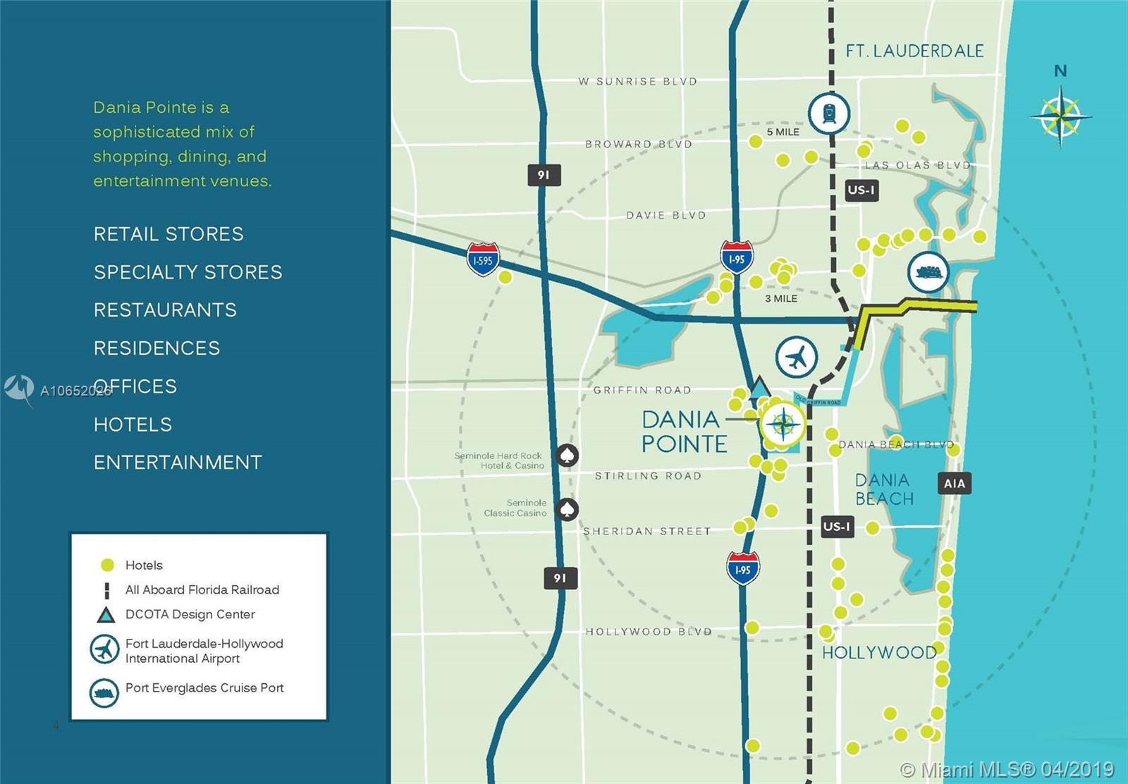 501 E Dania Beach Blvd #53H, Dania Beach, FL 33004 - 2 Bed, 2 Bath Dania Beach Map on